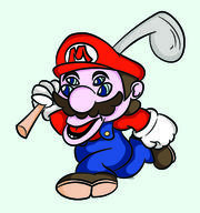 artist:CreativeSam corruptions game:Mario_Golf mario streamer:vinny // 2309x2468 // 2.8MB