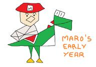 Maro artist:jomarori game:mario's_early_years streamer:vinny // 1055x739 // 38.8KB