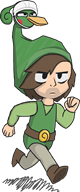 artist:quasi ezlo game:the_legend_of_zelda:_the_minish_cap link scoot streamer:vinny // 525x1260 // 41.4KB