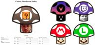 artist:NatoPotato custom_shroom_maker custom_vineshroom_maker customizable html javascript kappa luigi mario shroom_maker streamer:vinny vinesauce vineshroom vineshroom_maker // 1300x623 // 704.3KB