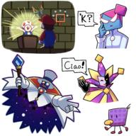artist:Eigenvector count_bleck dimentio game:super_paper_mario nastasia streamer:vinny // 2500x2500 // 2.5MB