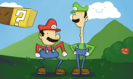 box bros. cloud item loogi luigi mario // 1000x600 // 255.2KB