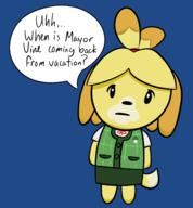 artist:startslash game:animal_crossing_new_leaf isabelle streamer:vinny // 1472x1588 // 383.8KB
