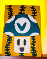 acrylic acrylic_painting hand_painted painting painting_on_canvas streamer:vinny vinesauce vineshrooms // 1290x1605 // 2.7MB