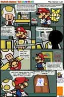 artist:ItsMamaLuigi comic game:paper_mario_the_origami_king king_olly mario olivia sensor_lab streamer:vinny toad // 750x1125 // 186.2KB