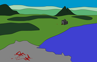 artist:bantuatha background blood game:dwarf_fortress streamer:joel // 800x515 // 25.1KB