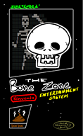 bone boxart game_dev_tycoon nes skeleton spooky streamer:joel // 537x871 // 50.7KB