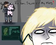 artist:CheekyMonados game:metal_gear_solid_2 raiden rose snake streamer:vinny // 1280x1024 // 519.1KB