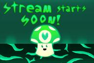 artist:Drenn cozy dark glow glowy starting_soon streamer:vinny vinesauce vineshroom // 1500x1000 // 372.8KB