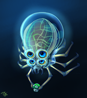 artist:scarecrow crabsquid game:subnautica streamer:vinny vineshroom // 457x514 // 225.7KB