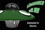 alien animated artist:Zonified brb game:destroy_all_humans streamer:vinny ufo // 1080x720 // 620.5KB