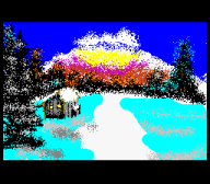 artist:goombella bob_ross joy_of_painting mario_paint streamer:joel // 256x224 // 13.1KB