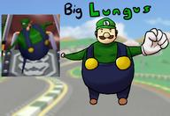 GAME:Corruptions artist:thecaminator game:Mario_Kart_Double_Dash luigi streamer:vinny // 1600x1100 // 893.0KB