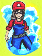 artist:jerene game:super_mario_sunshine streamer:umjammerjenny // 600x800 // 1.1MB