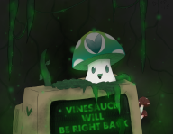 be_right_back brb computer mushroom vines vineshroom // 900x700 // 467.1KB