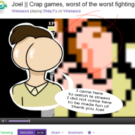 artist:michelleo bootleg butt streamer:joel worst_fighting_games // 600x600 // 204.2KB