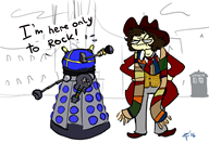 artist:theworstpokemon doctor_who game:guitar_hero game:half-life_2 streamer:joel // 1400x1050 // 443.9KB
