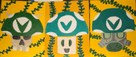 acrylic acrylic_painting hand_painted joel_vineshroom painting painting_on_canvas streamer:joel streamer:revscarecrow streamer:vinny vinesauce vineshrooms // 1453x618 // 1.5MB