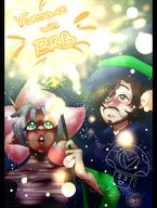 artist:cumbervanna brb cling_on game:miitopia streamer:vinny // 530x700 // 460.0KB