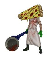 artist:CypressD game:silent_hill_2 pizza pizza_cutter pyramid_head streamer:vinny // 944x1038 // 416.1KB