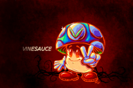 artist:happy-disposition hand_drawn psychedelic streamer:vinny traditional vineshroom // 600x400 // 320.9KB