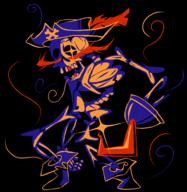 artist:Blahazardous game:super_bone_bros skeleton spooky streamer:joel // 1908x1964 // 938.4KB