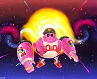 artist:leuosto game:kirby_planet_robobot kirby streamer:vinny vinesauce // 1407x1157 // 1.1MB