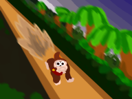 artist:bluntbows corruptions donkey_kong game:donkey_kong_country streamer:vinny // 800x600 // 344.2KB