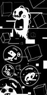 artist:donnolus corruptions doodle game:bubble_bobble mushroom streamer:vinny vinesauce // 640x1280 // 27.5KB