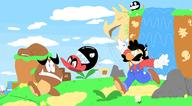 artist:Dunkeyshspittle cappy chain_chomp game:super_mario_odyssey goomba mario streamer:vinny // 2178x1202 // 491.3KB