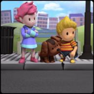 artist:callegos boney frog game:mother_3 kumatora lucas streamer:vinny // 301x301 // 5.0MB