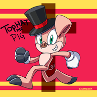 artist:carmenia game:the_zoo_race pig streamer:vinny vinesauce // 1800x1800 // 456.5KB