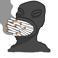 alien dumb jahn smoking // 800x800 // 132.7KB
