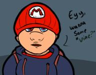 artist:ForkTailedFox drug_dealer drugs game:super_mario_64_DS mario streamer:vinny // 1280x1007 // 261.0KB