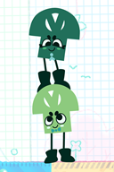 artist:computerstickman game:snipperclips streamer:vinny vineshroom // 500x750 // 166.8KB