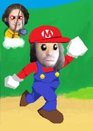 artist:Temp_user blind_mario bup game:super_mario_64 horror simpleflips streamer:joel // 500x700 // 74.2KB