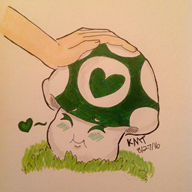 artist:spoopybananel streamer:vinny traditional vineshroom // 1936x1936 // 729.0KB
