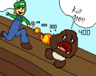 artist:lumpco charity_stream game:super_mario_bros streamer:vinny super_mario_bros // 190x150 // 3.2KB