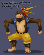 artist:kinggiantess banjo corruptions game:banjo-kazooie kazooie streamer:vinny // 750x945 // 396.0KB