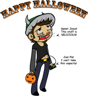 Halloween candy spooky streamer:joel // 416x453 // 45.7KB