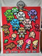 artist:CorneliusEdmondII boney duster game:mother_3 kumatora lucas masked_man perler pigmasks pixel_art streamer:vinny // 720x960 // 646.0KB