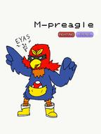 M-preagle artist:Skyward_Strike fakemon game:vinemon streamer:vinny // 1694x2260 // 791.9KB