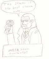 artist:the_blighted_one game:metal_gear_solid ocelot revolver_ocelot streamer:vinny vinesauce // 895x1091 // 444.4KB