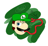 artist:multigaminggal mario memes speed_luigi streamer:vinny // 1472x1424 // 310.6KB