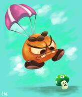 artist:Adam_RL game:super_mario_maker_2 goomba streamer:vinny // 1200x1416 // 1.2MB