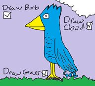 birb bird draw ms_paint simulator streamer:vinny vinesauce // 682x616 // 39.7KB