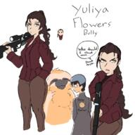 artist:9Idiot character:flowers flowers game:rimworld streamer:vinny // 1200x1200 // 598.5KB