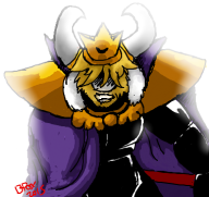 asgore game:undertale streamer:joel // 380x360 // 111.4KB