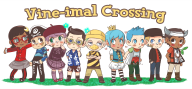artist:kalechippu game:animal_crossing streamer:vinny // 1925x900 // 853.7KB