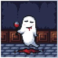 artist:howisthisaname game:mother_3 ghost streamer:vinny vinesauce wine // 192x192 // 2.7KB